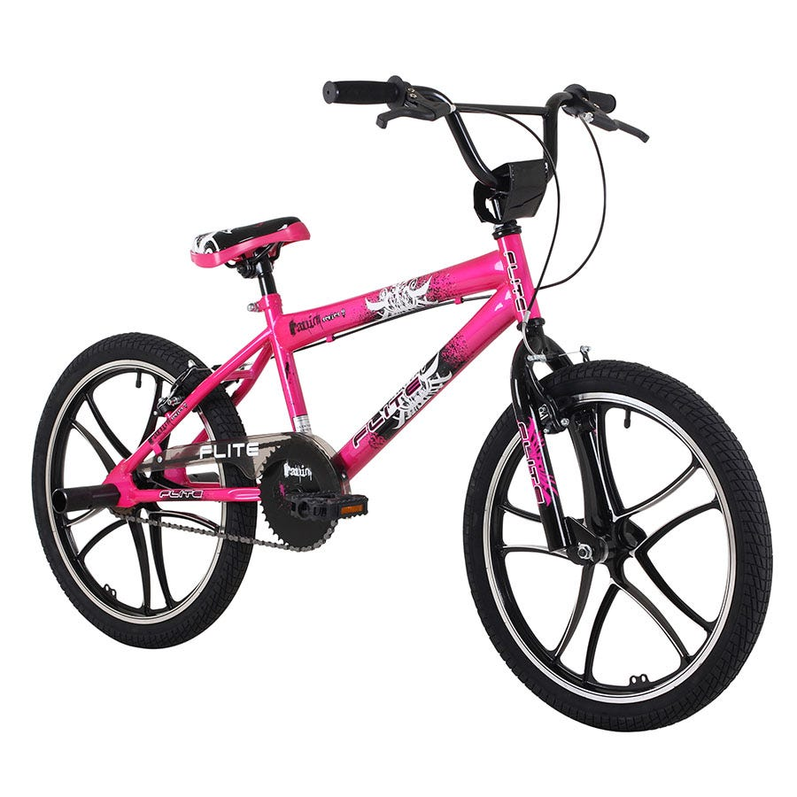 Compare prices for Flite 11-Inch Panic Mag Girls BMX Bike