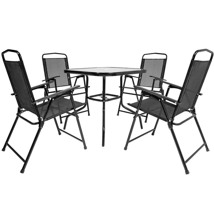 Compare cheap offers & prices of Charles Bentley 5-Piece Mesh Furniture Set manufactured by Charles Bentley
