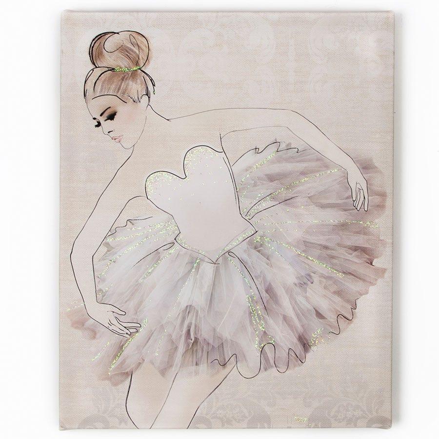 Image of Graham & Brown 'Classic Ballerina' Wall Art