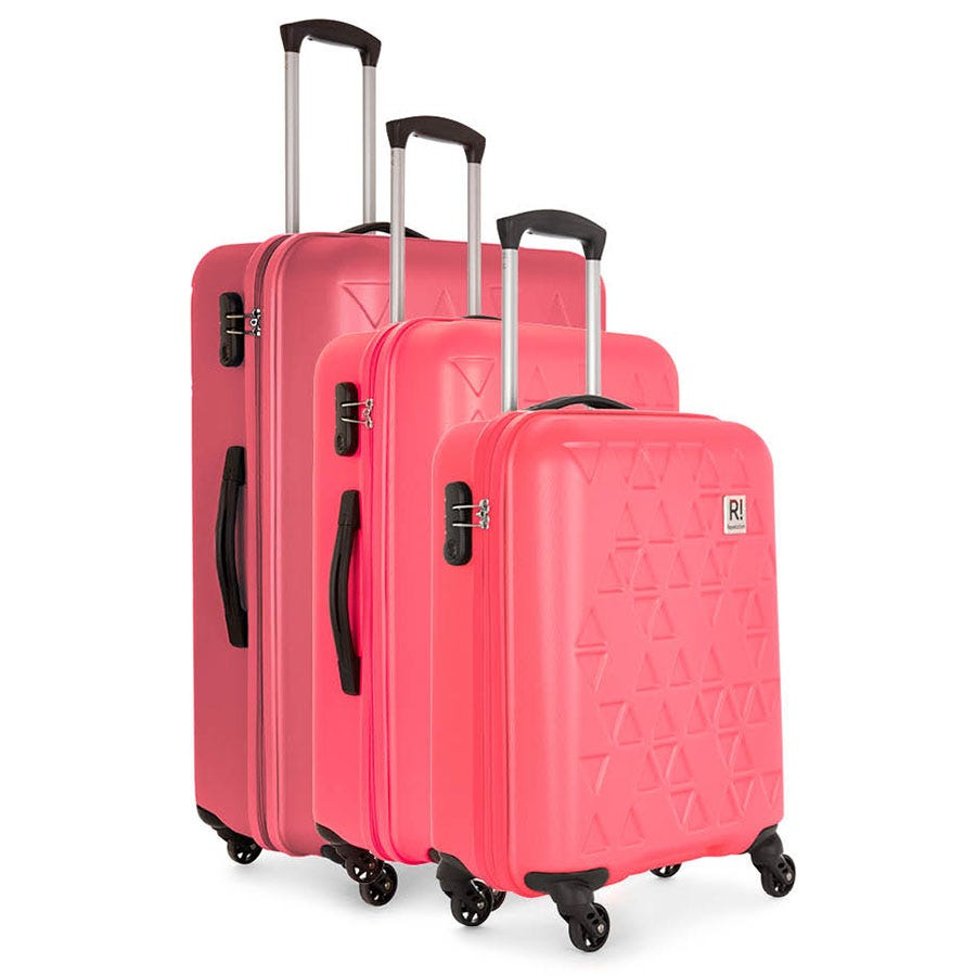 Compare prices for Revelation by Antler Echo 3-Piece Suitcase Set