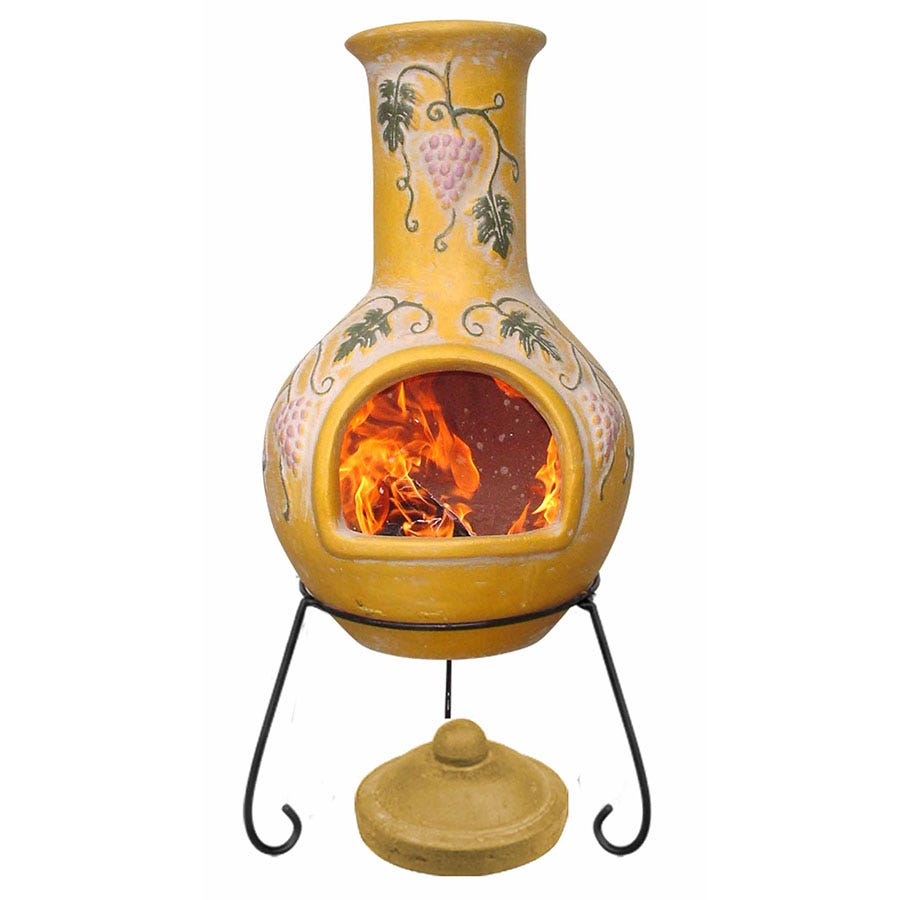 Compare prices for Gardeco Extra-Large Grapes Mexican Chiminea