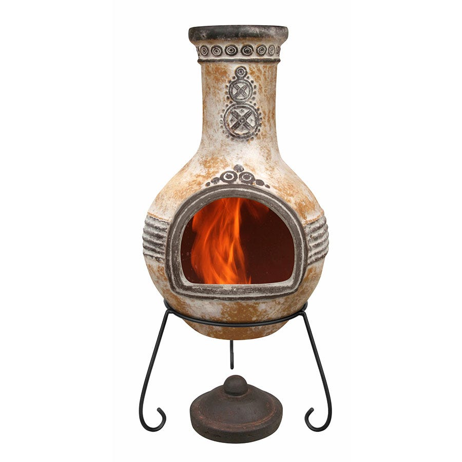 Compare prices for Gardeco Extra-Large Azteca Mexican Chiminea