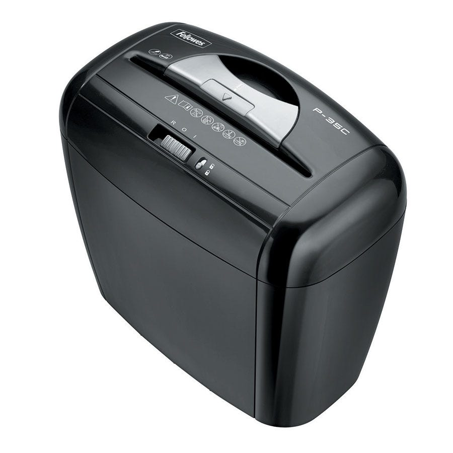 Compare prices for Fellowes Powershred P-35C Cross-Cut Shredder