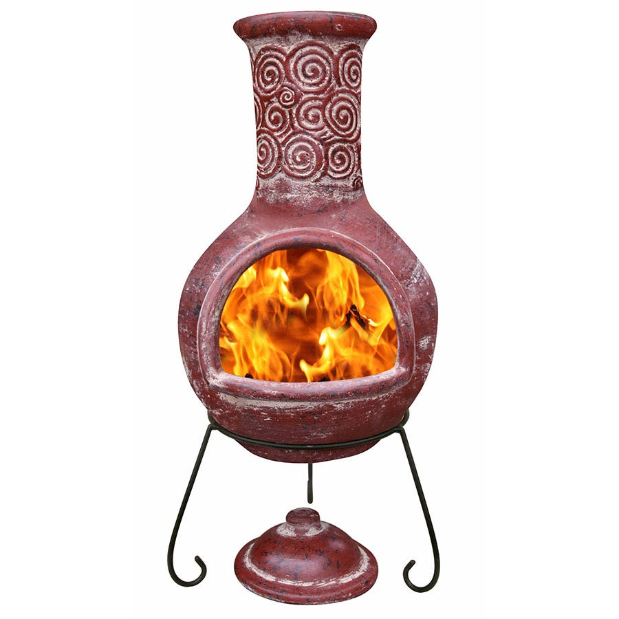 Compare prices for Gardeco Extra-Large Espiral Mexican Chiminea