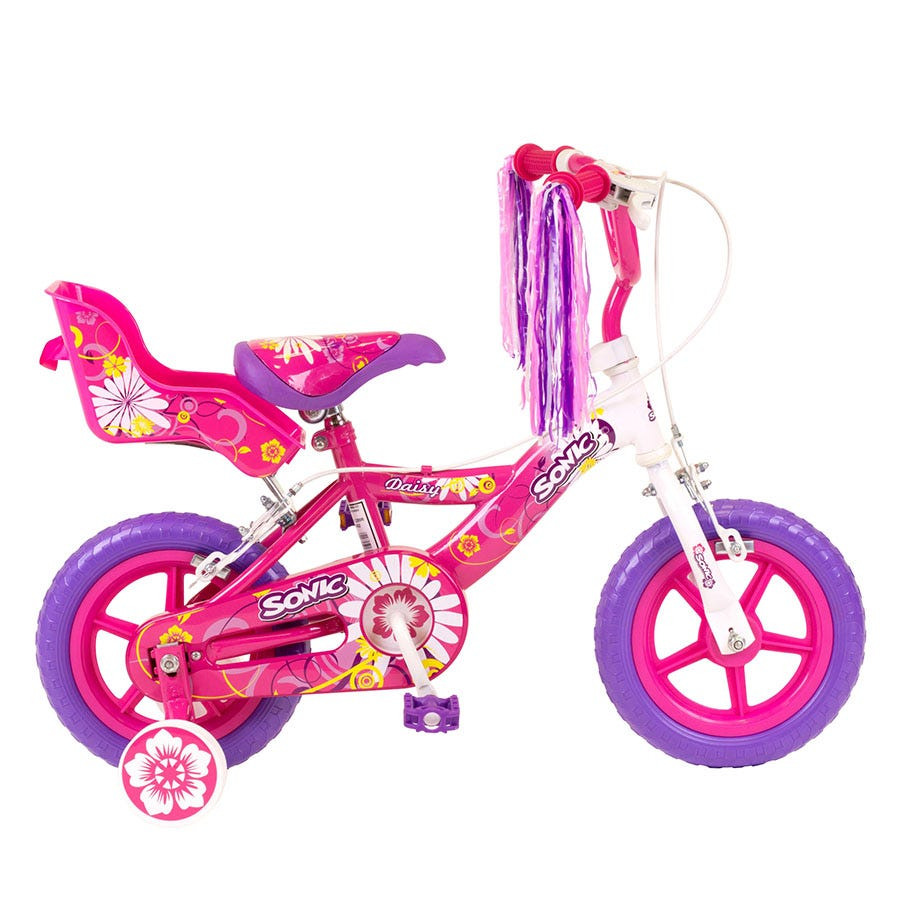 Compare prices for Sonic 12 Inch Daisy Girls Bike / White