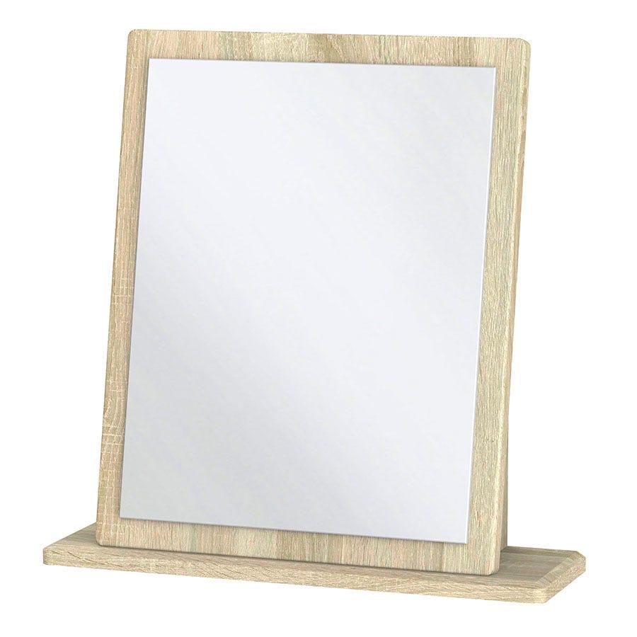 Kirkhill Dressing Table Mirror - White Oak