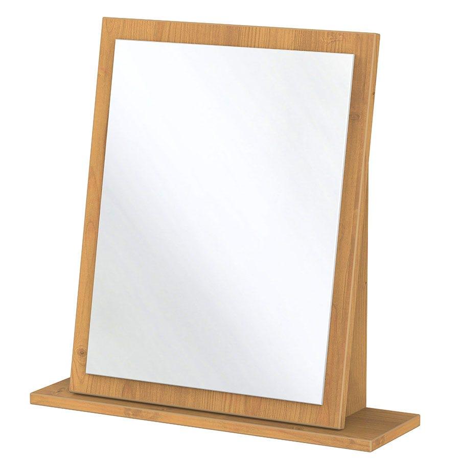 Otega Dressing Table Mirror - Oak