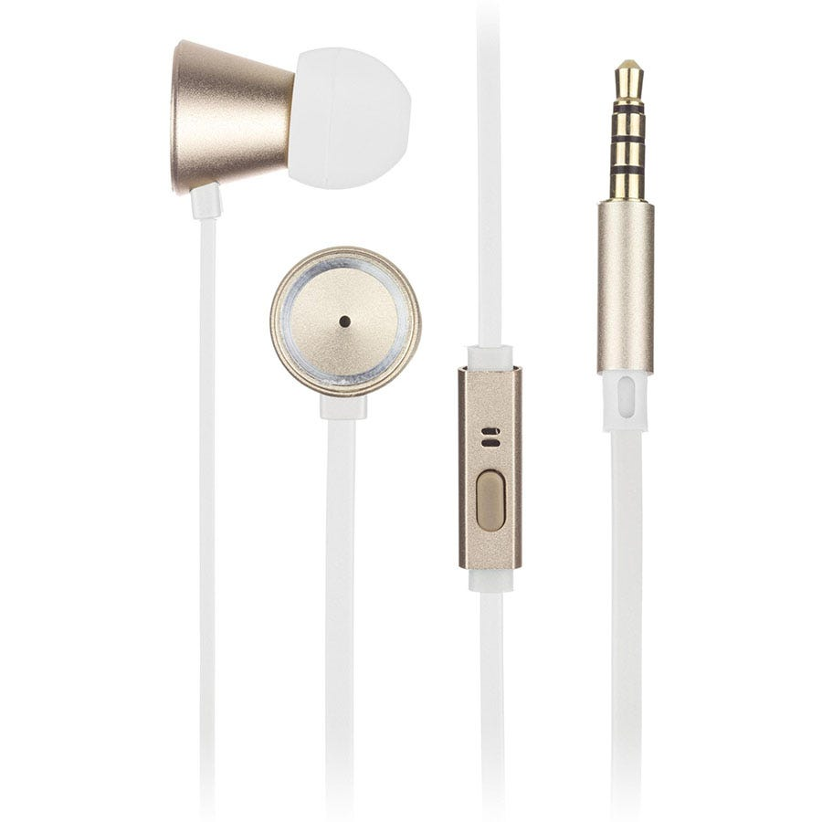 Compare prices for Kitsound Metallics In-Ear Headphones - Gold