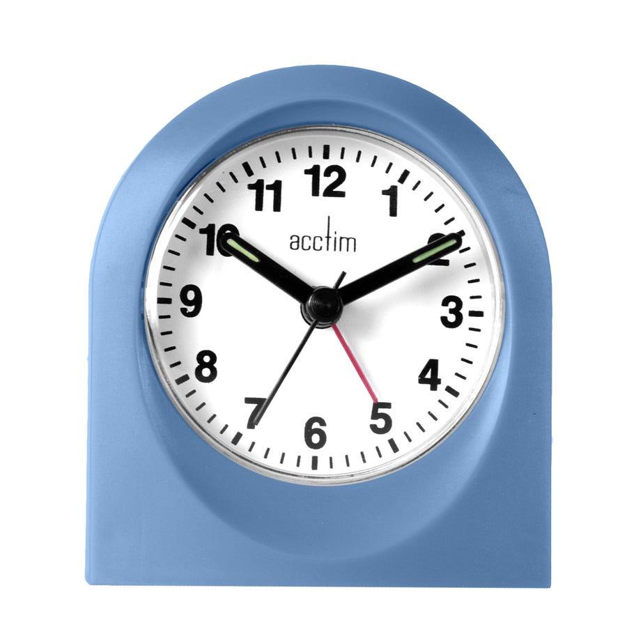 Image of Acctim Palma Alarm Clock - Blue