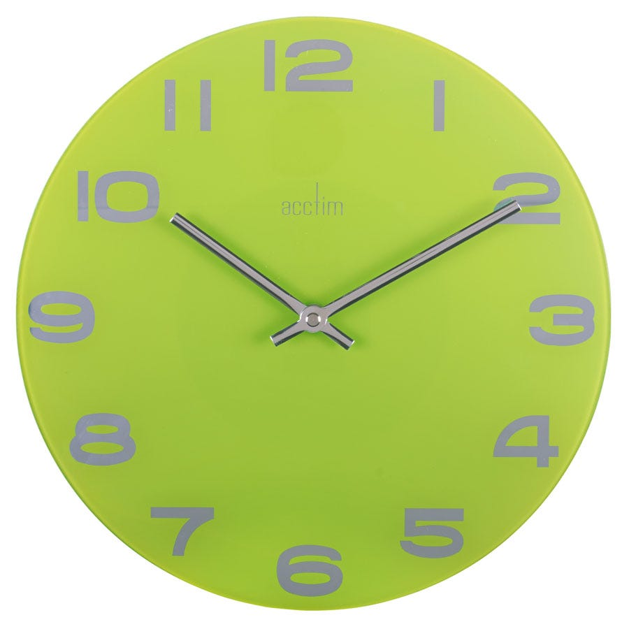 Compare prices for Acctim Mika Glass Wall Clock