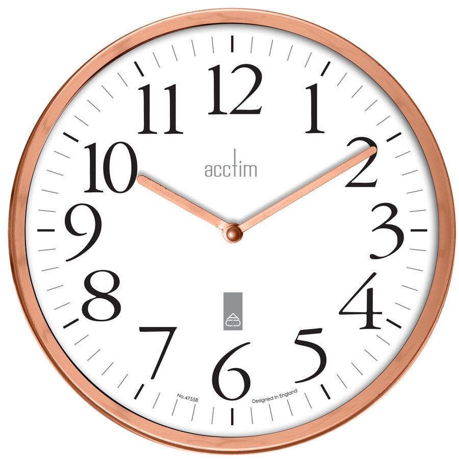 Image of Acctim Roebuck Copper Wall Clock