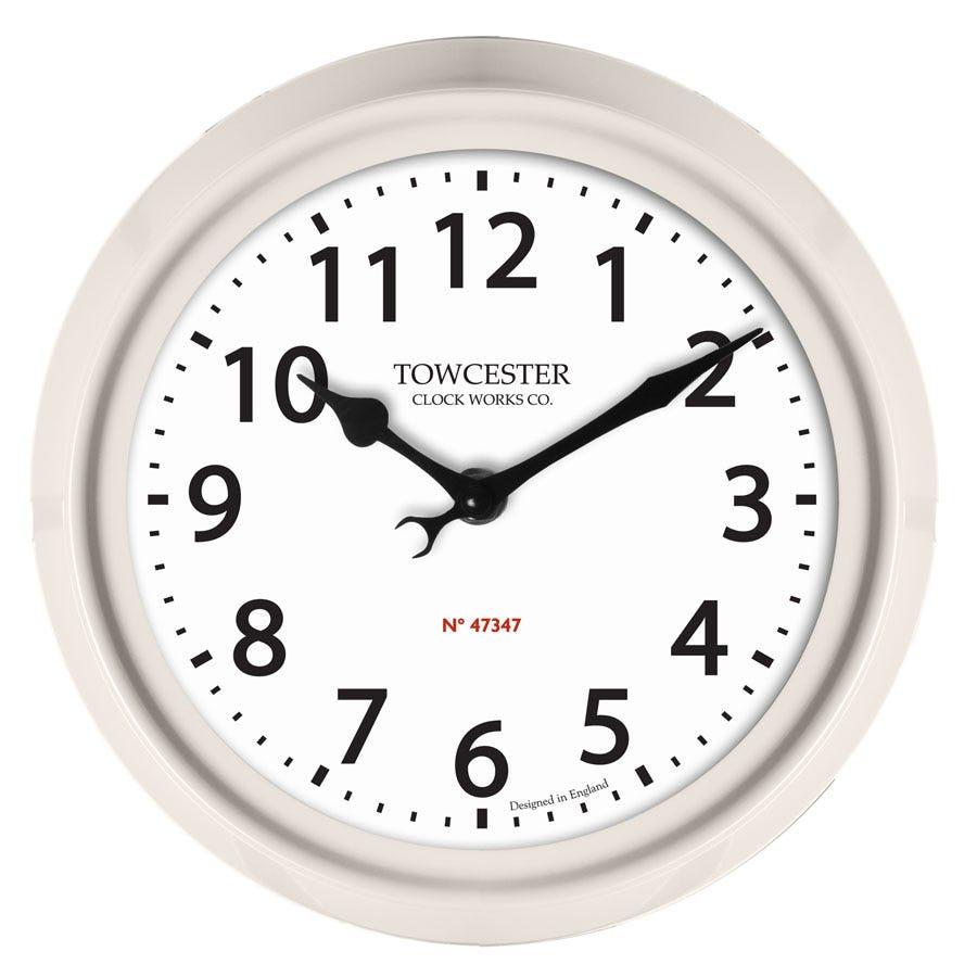 Image of Acctim Shelton Indoor/Outdoor Wall Clock