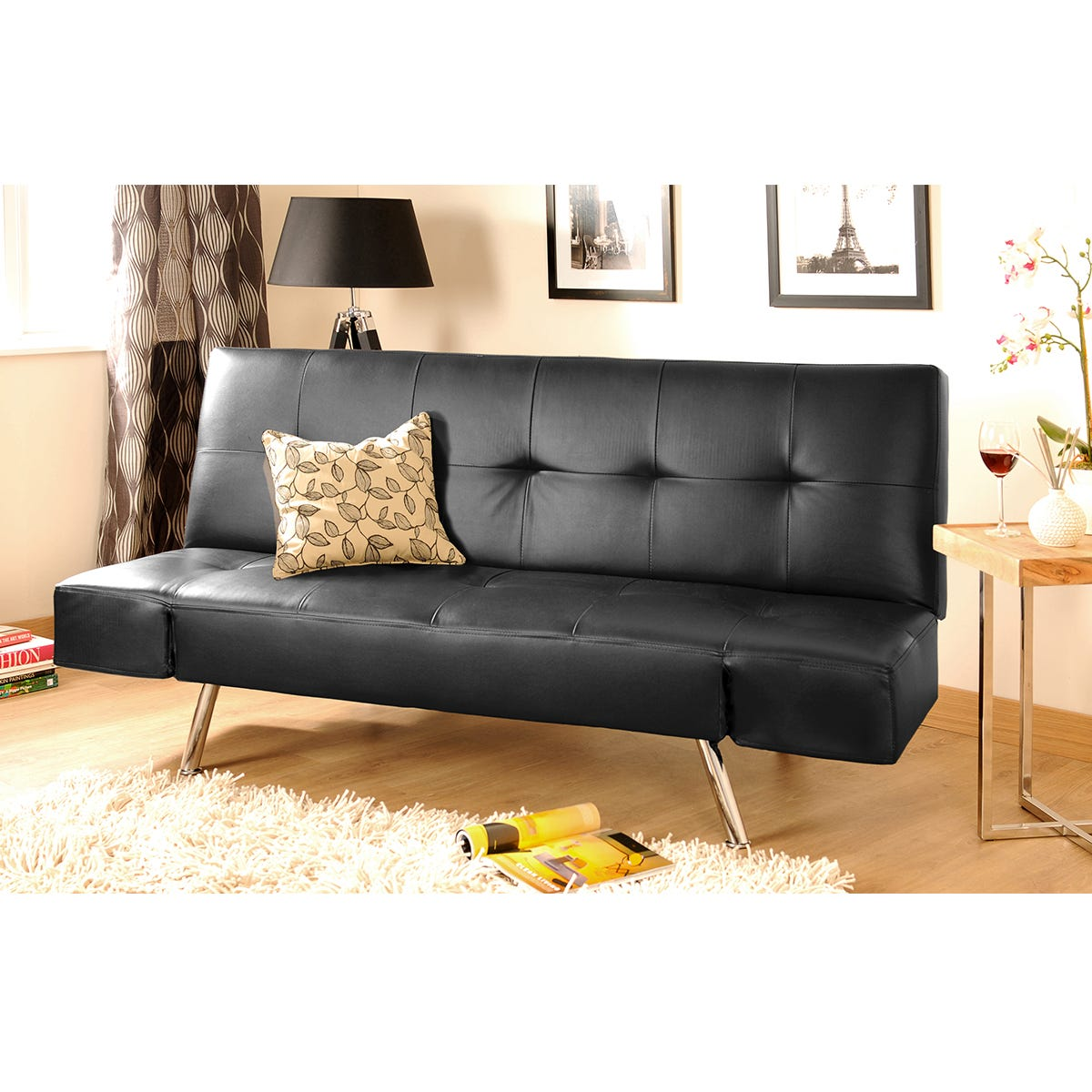 Airlie Sofa Bed - Black