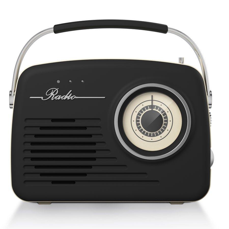 office radios. Akai Retro AM FM Radio \u2013 Black Office Radios
