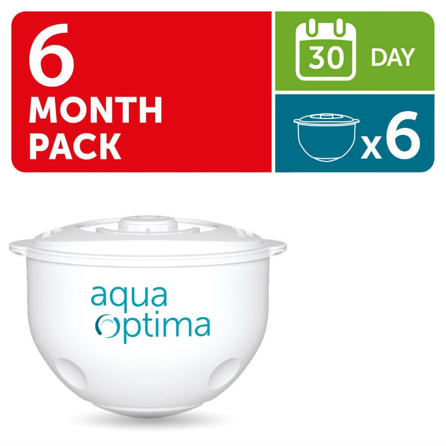 Image of Aqua Optima 30-Day Water Filters – 6 Pack