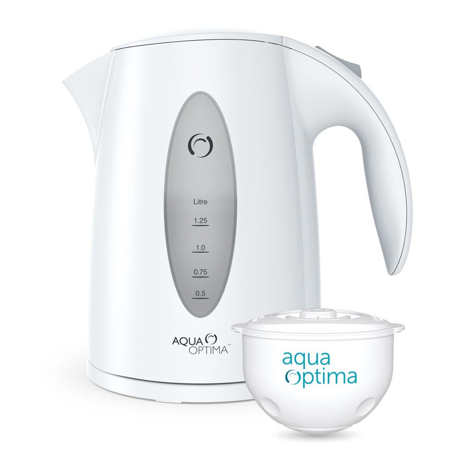 Compare cheap offers & prices of Aqua Optima Aquis Cordless Water Filter Kettle manufactured by Aqua Optima