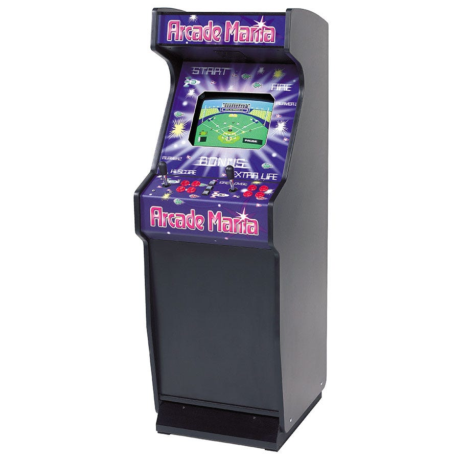 Compare prices for Mightymast Arcade Mania Upright Games Table