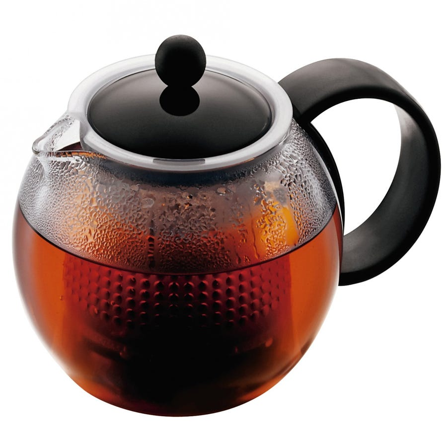 Cheapest price of Bodum Assam 1L Glass Infuser Teapot in new is £15.49