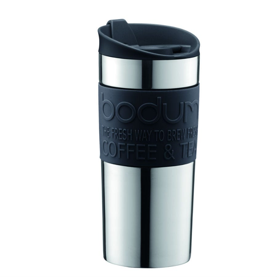 Compare cheap offers & prices of Bodum Vacuum Travel Mug - Black manufactured by Bodum