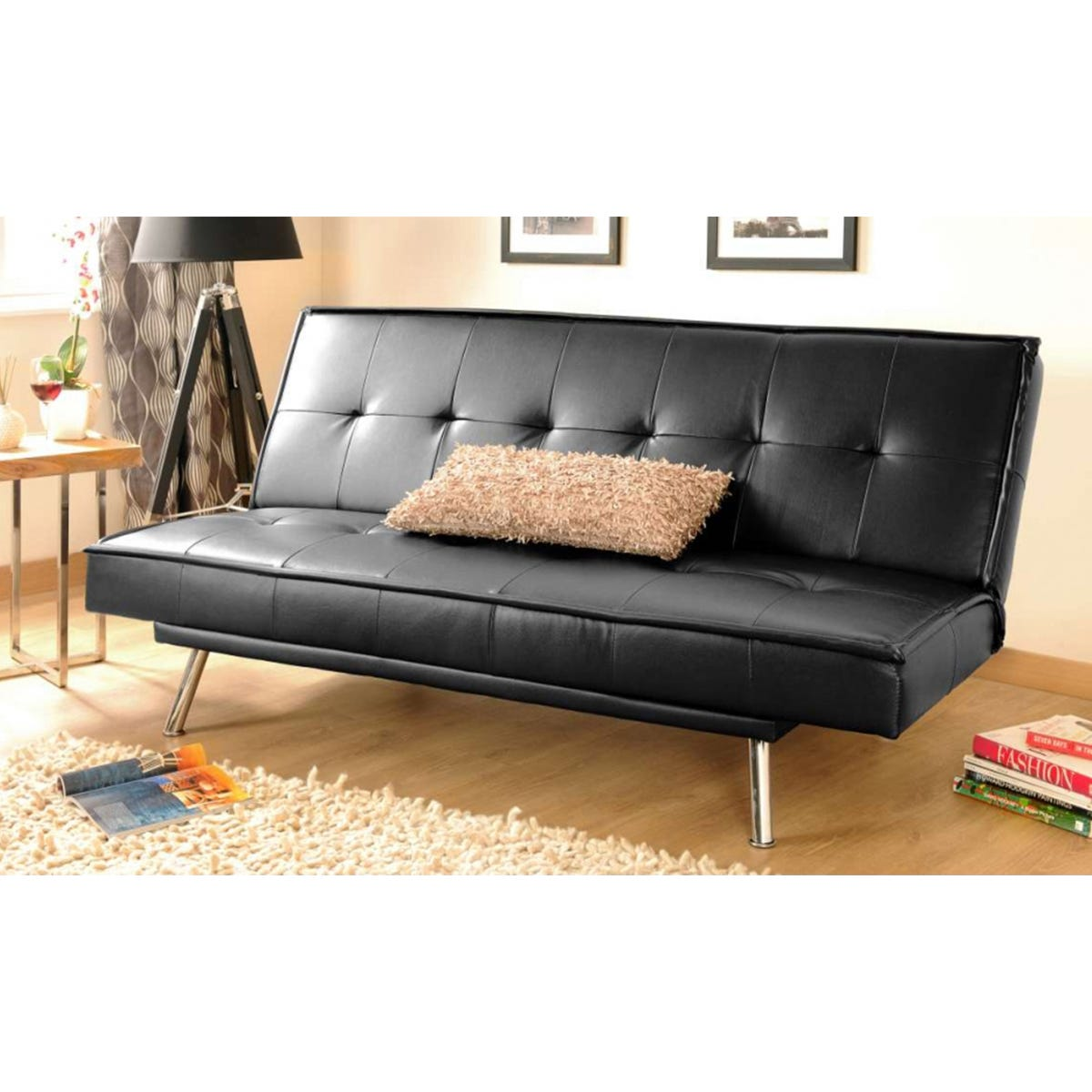 Bondi Sofa Bed - Black