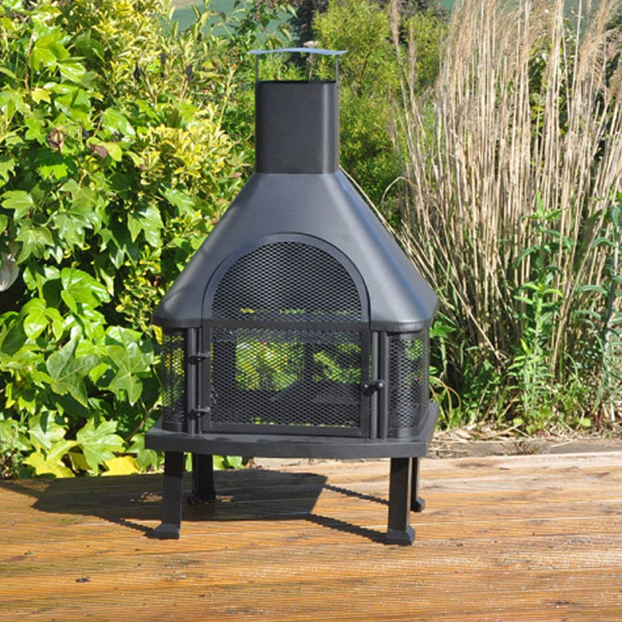 Compare prices for Kingfisher Bonnington Outdoor Log Burner