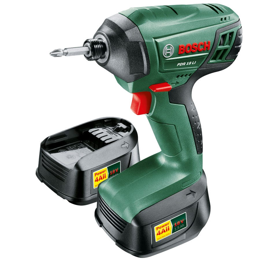 Compare retail prices of Bosch PDR 18 Li-2 18V Cordless Impact Driver with Spare Battery to get the best deal online