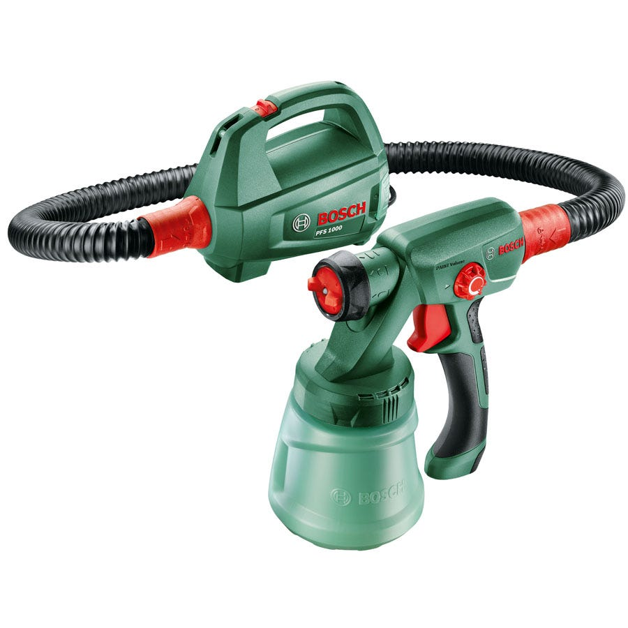 Compare cheap offers & prices of Bosch PFS 1000 Wood Paint Spray System manufactured by Bosch