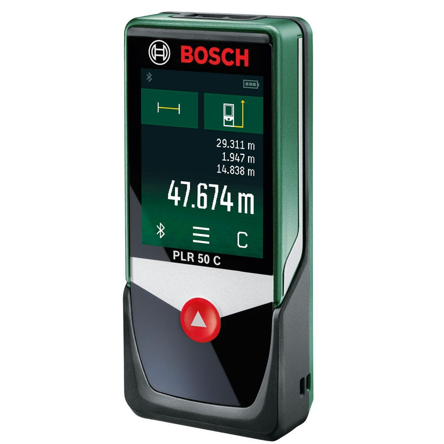 Compare retail prices of Bosch PLR 50 C Digital Laser Measure to get the best deal online