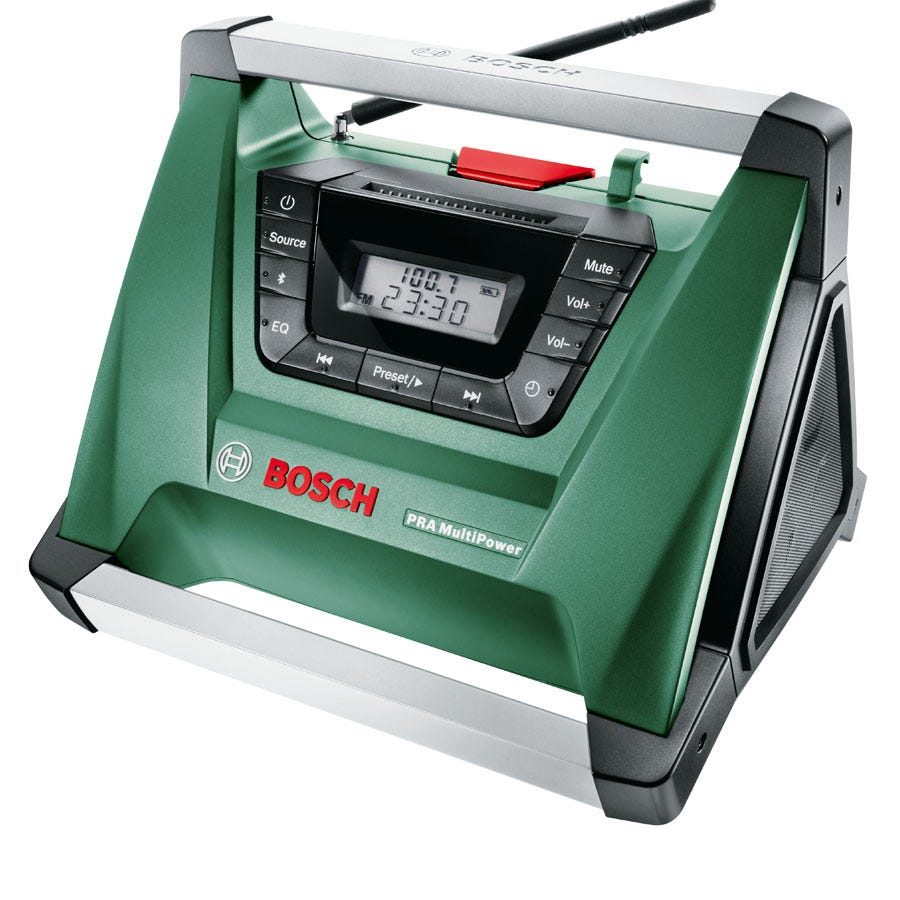 Compare retail prices of Bosch PRA Multipower Li-Ion Bluetooth Radio to get the best deal online