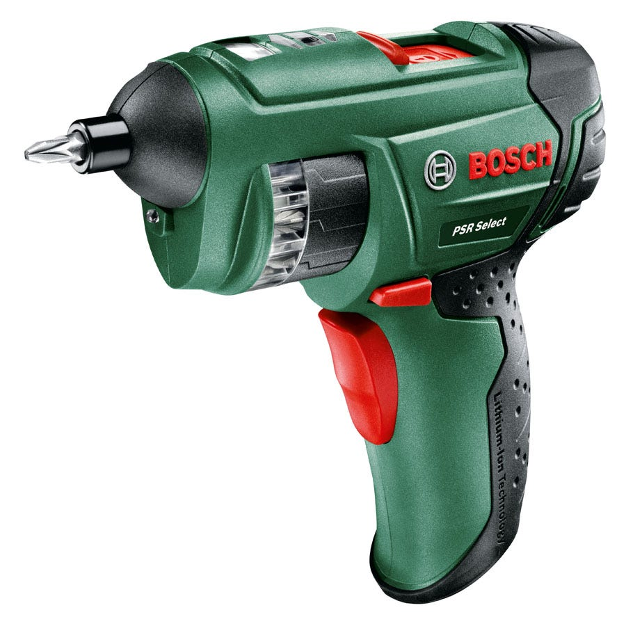 Compare retail prices of Bosch PSR Select 3.6V Li-Ion Cordless Screwdriver to get the best deal online