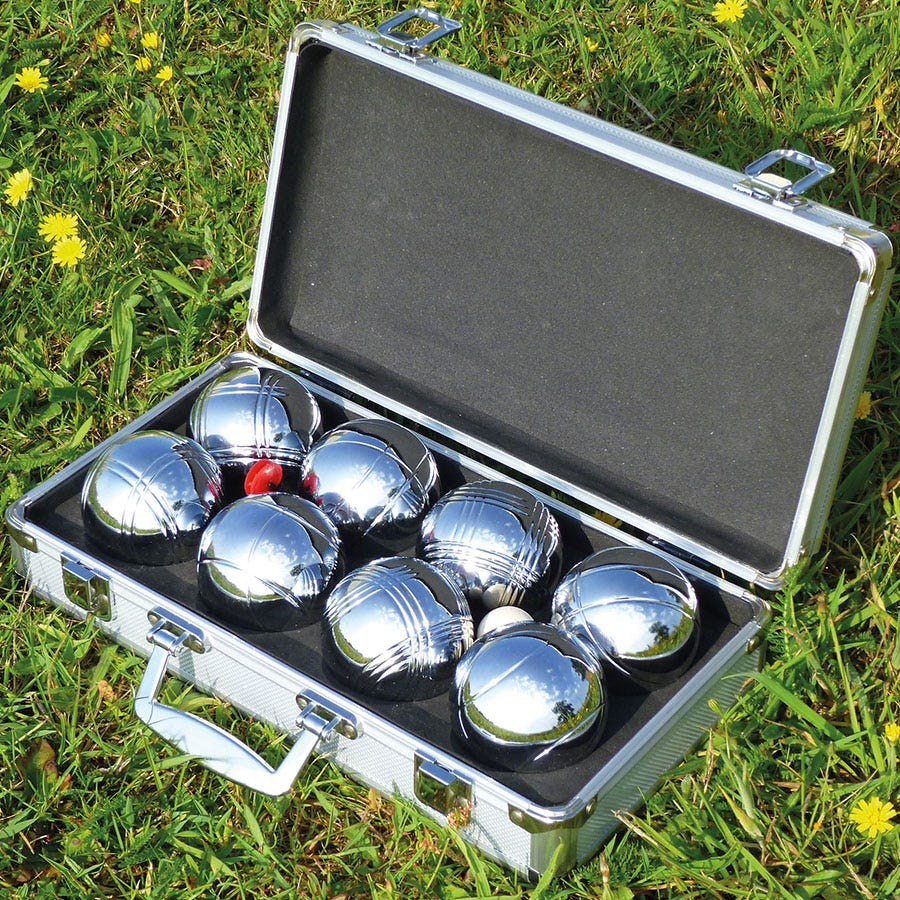 Compare prices for Mightymast 8-Piece Boules Set
