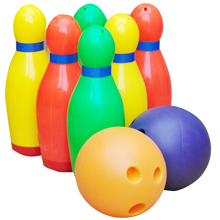 Compare prices for Kingfisher Garden Bowling Set