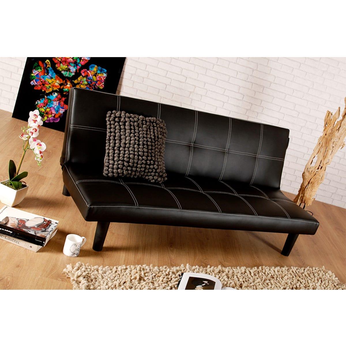 Brisbane Sofa Bed - Black