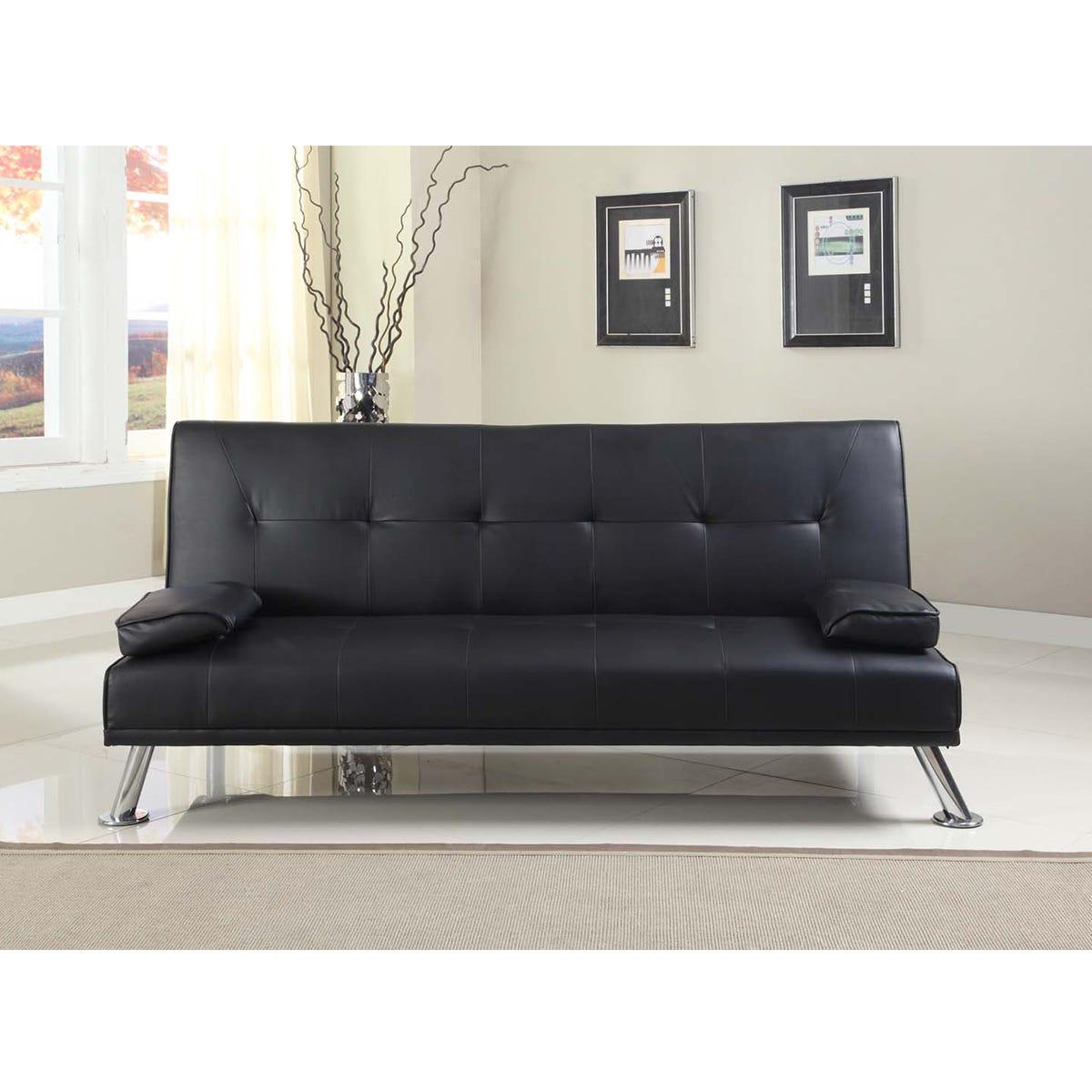 Cairns Sofa Bed - Black