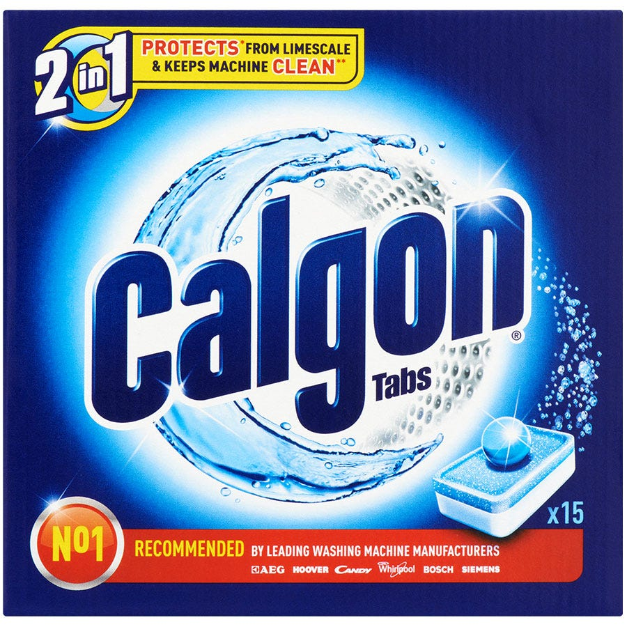 Image of Calgon Express Ball Limescale Tablets – 15 Pack