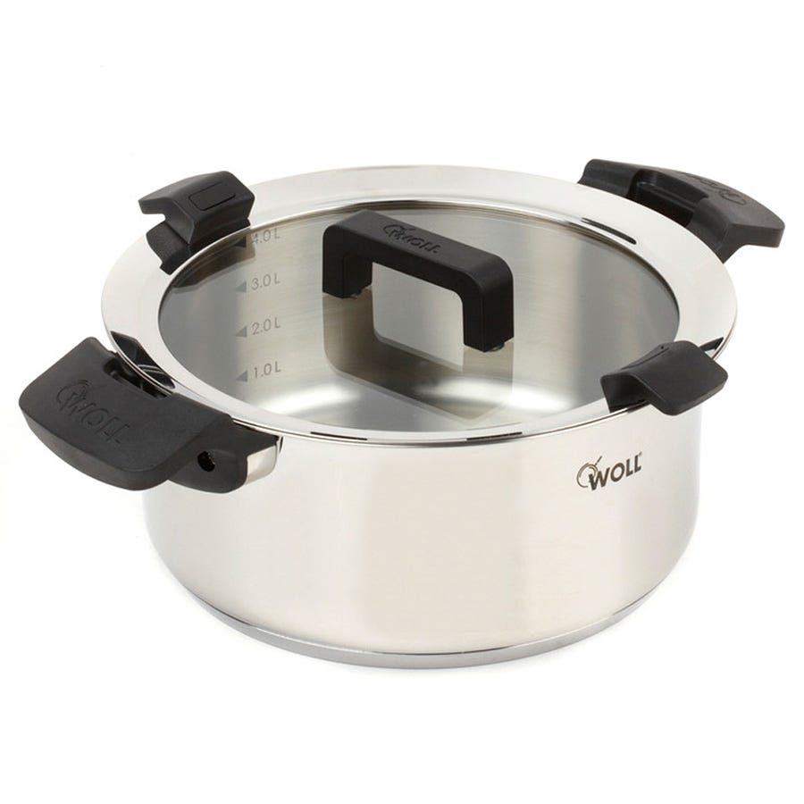 Compare prices for Woll 24 cm Casserole with Glass Lid - 5 Litres
