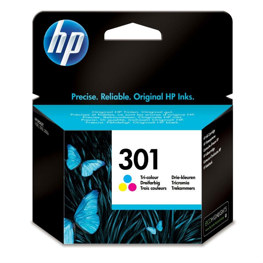 HP Hewlett-Packard 301 Tri-Colour Ink Cartridge