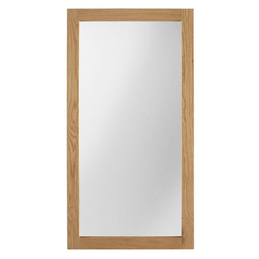 Ametis Sherwood Oak Leaner Wall Mirror - 120 Cm