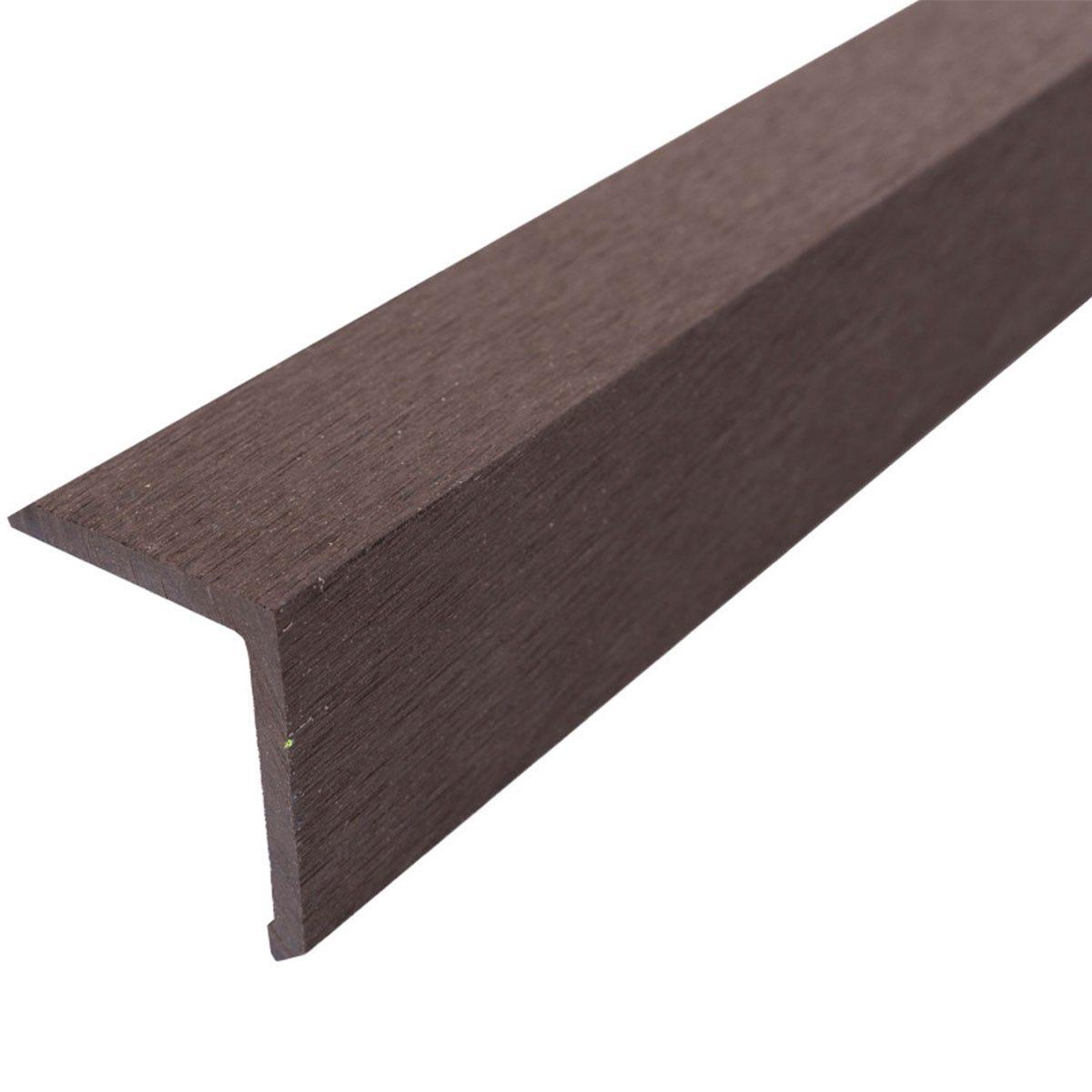 Select Composite Decking 1.8m Corner Trim Pk 5 - Coffee
