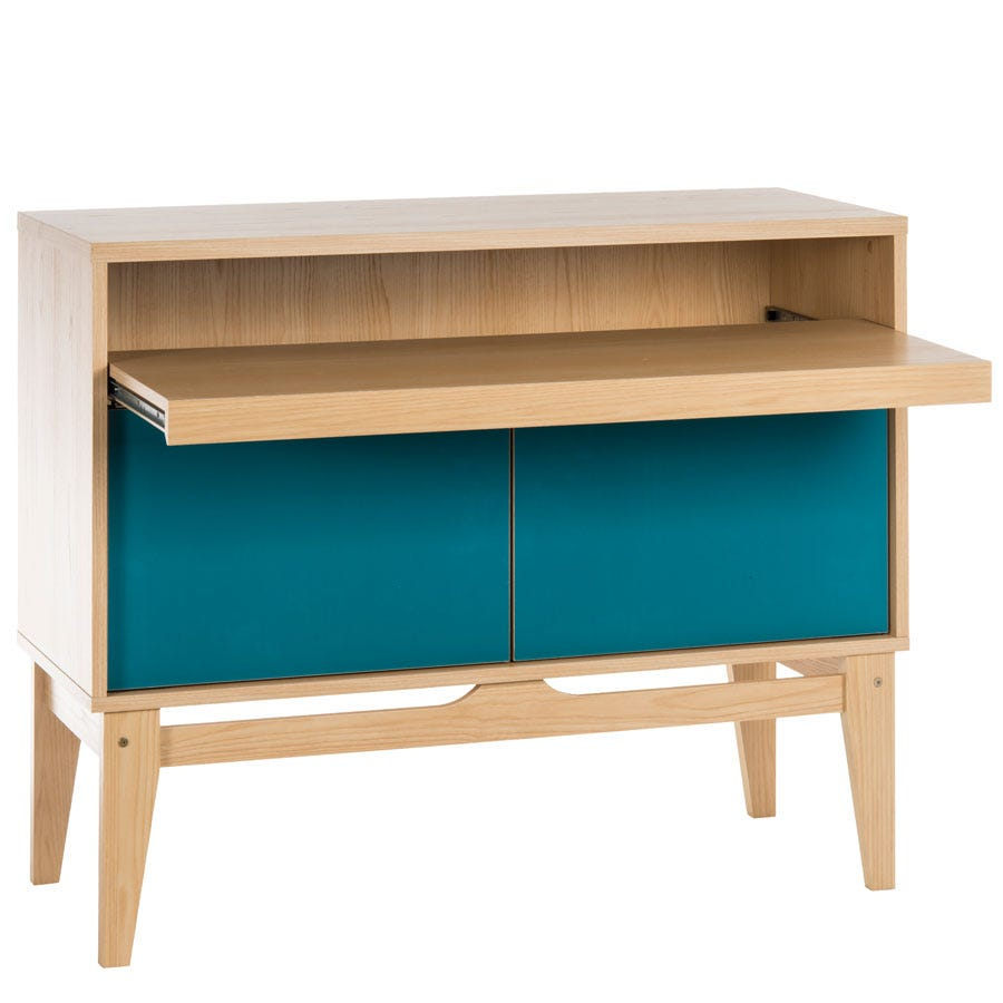 teknik contemporary bureau desk sideboard for the home office