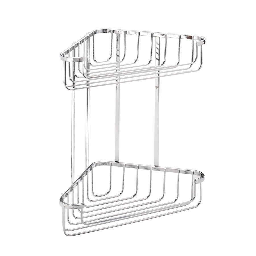 Compare prices for Croydex 2 Tier Corner Basket
