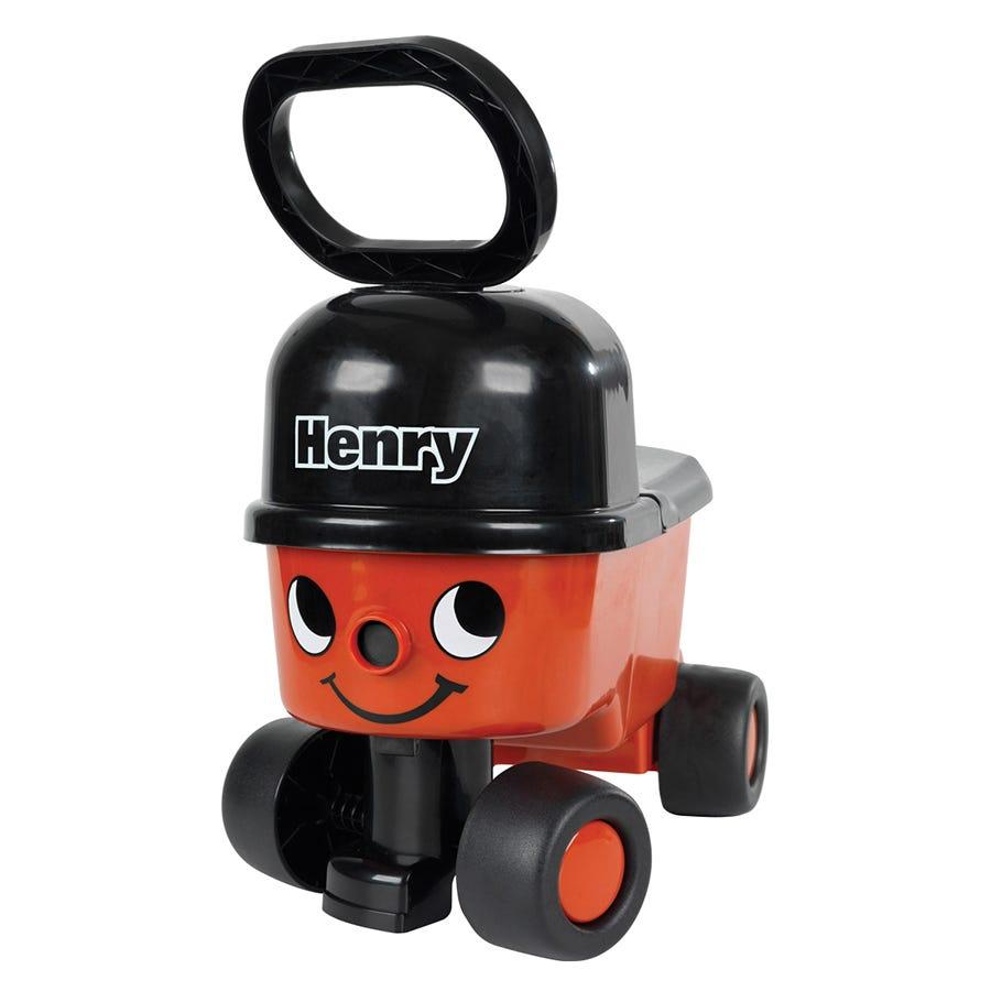 Charles Bentley Sit 'n' Ride Vacuum Cleaner With Storage Bucket