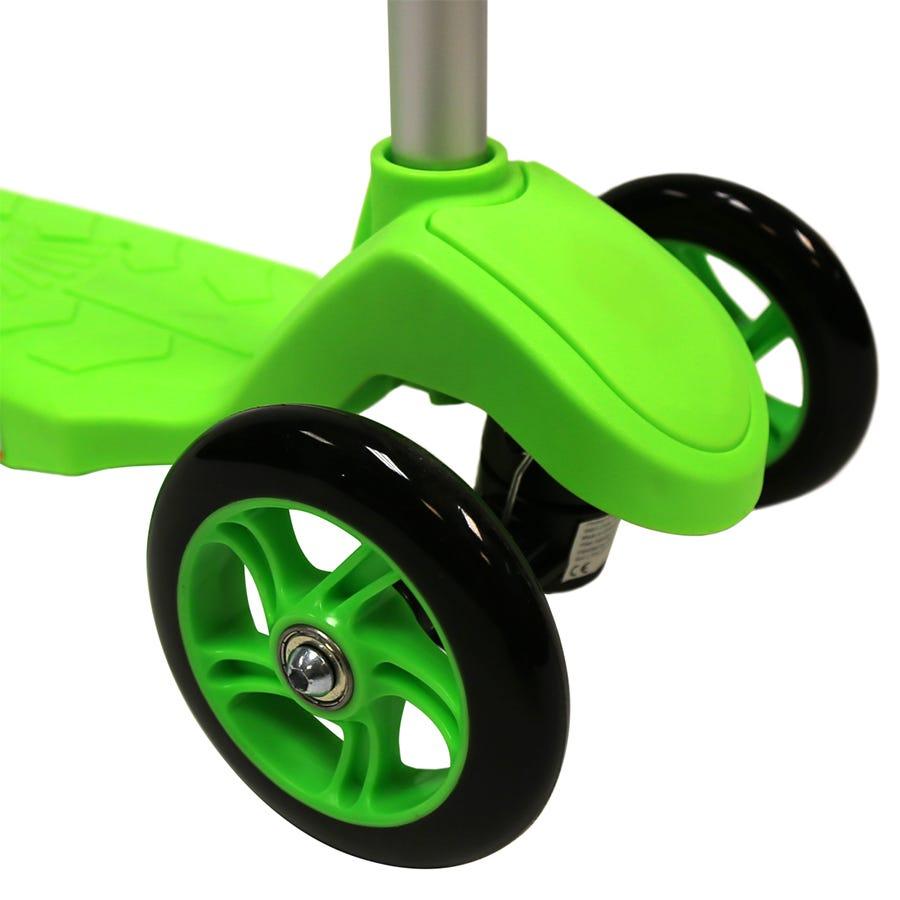Charles Bentley Kids Mini 3 Wheel Scooter - Green