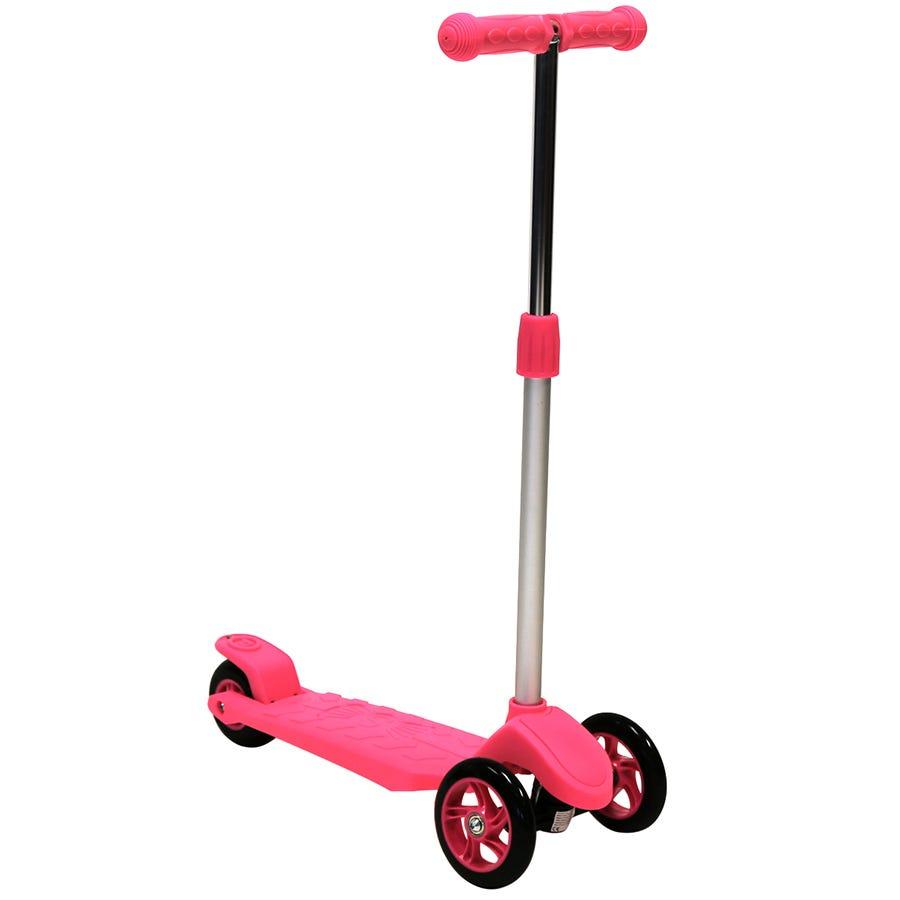 Charles Bentley Kids Mini 3 Wheel Scooter - Pink