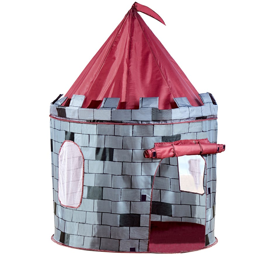 Charles Bentley Grey Knight Castle Play Tent