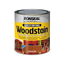 Ronseal Quick Drying Woodstain – Antique Pine, 750ml
