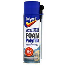 Polycell Expanding Foam Polyfilla - 500ml