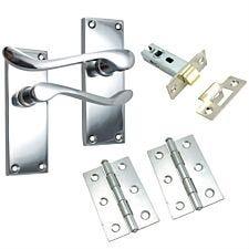 100mm Scroll Lock Set - Chrome