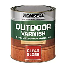 Ronseal Outdoor Varnish Gloss 250ml