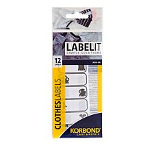 Korbond Care & Repair Iron on Clothes Labels